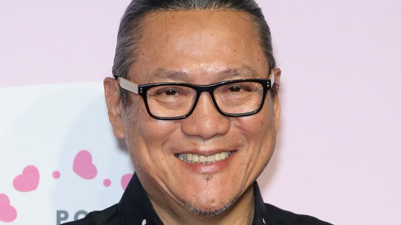 Masaharu Morimoto smiling