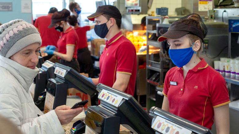 McDonald's cashiers