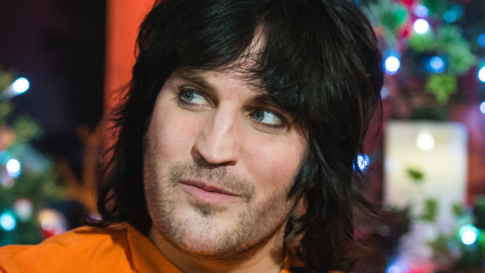 Close up of Noel Fielding smiling