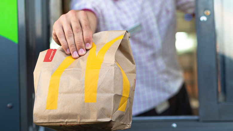 McDonald's drive-thru service