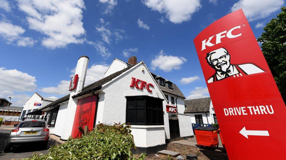 KFC restaurant in England