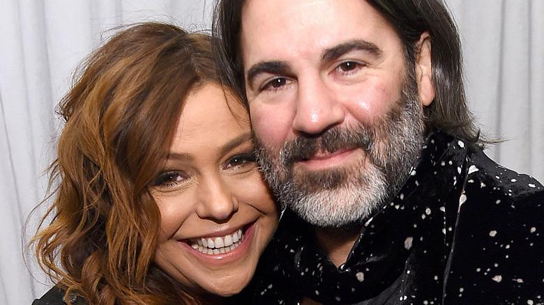 Rachael Ray smiles with husband John Cusimano