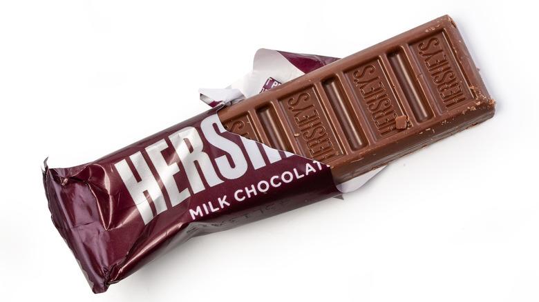hershey's chocolate candy bar