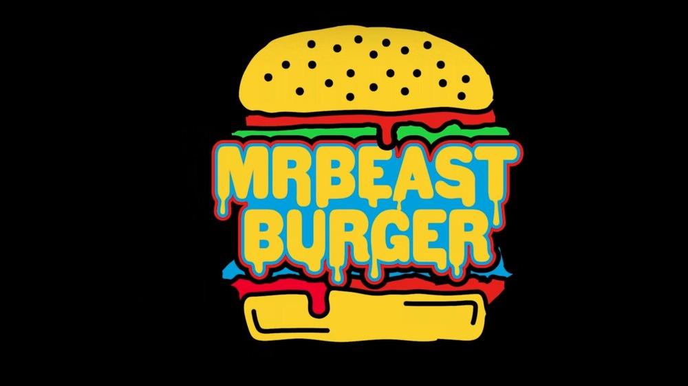 MrBeast Burger Logo on black
