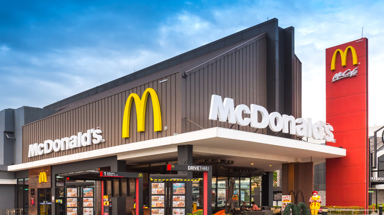 McDonalds store front