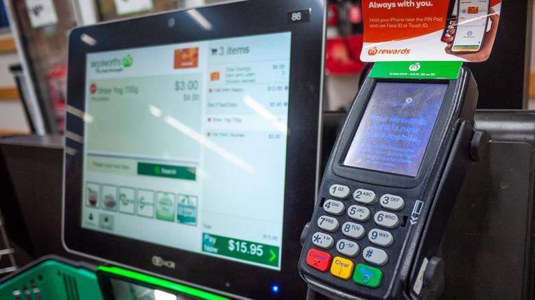 Self-serve checkout machines