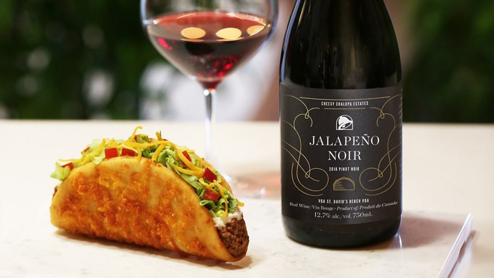 taco bell wine