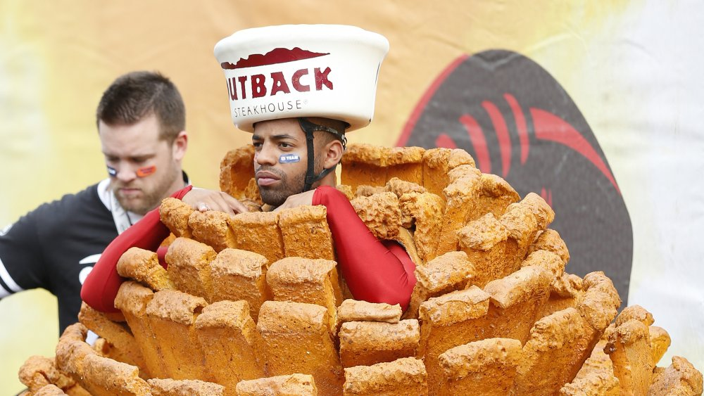 Outback Bloomin' Onion costume