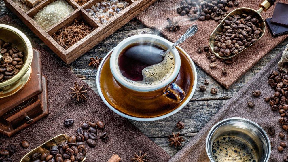Coffee spirces