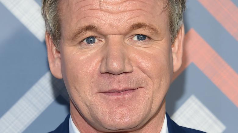 Gordon Ramsay serious expression