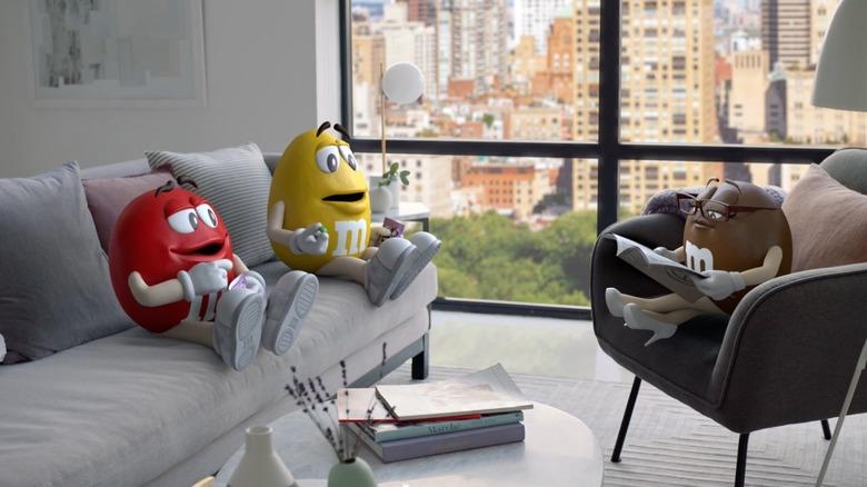 Fudge Brownie M&M's commercial