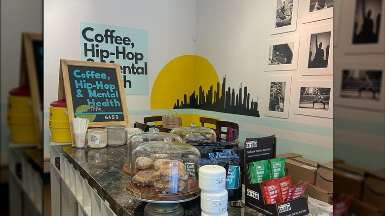 Inside the Coffee, Hip-Hop & Mental Health store