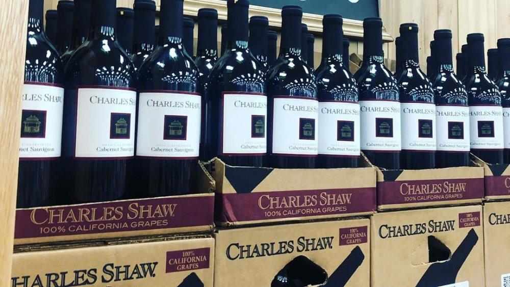 Charles Shaw wines