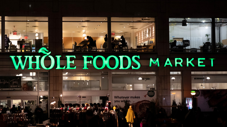 Whole Foods Market outdoor sign