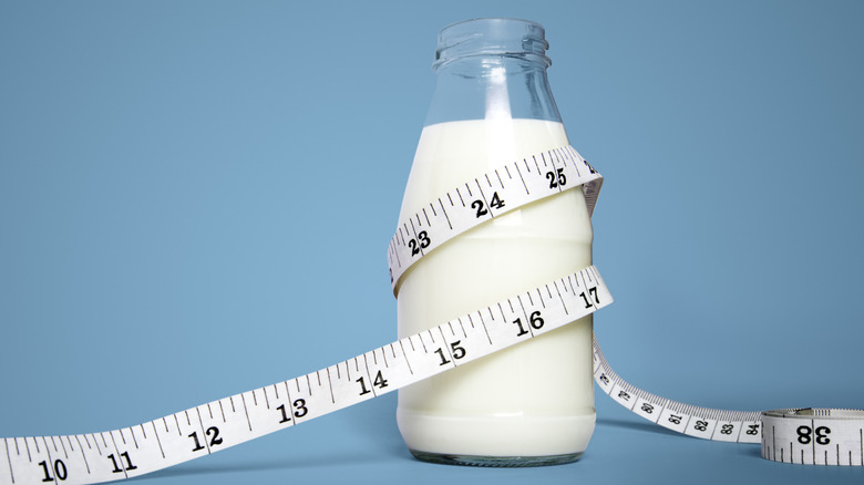 Thin milk measurement