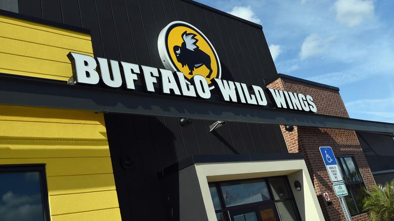 Outside a Buffalo Wild Wings