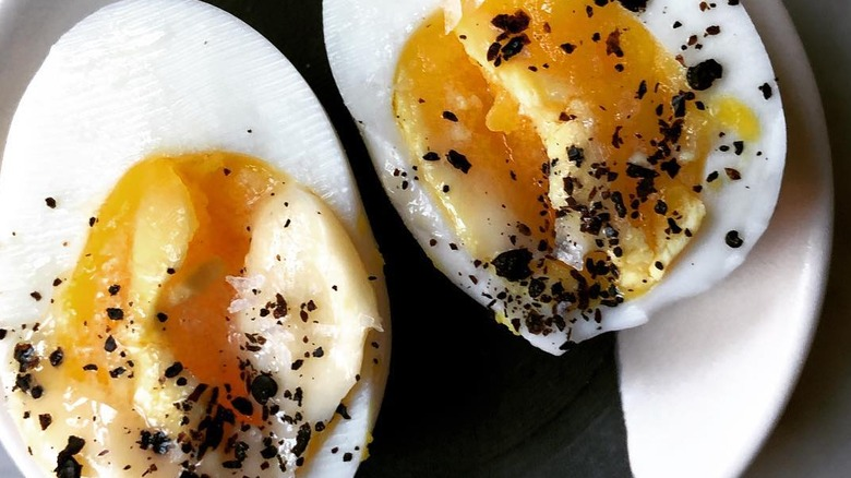buttered eggs