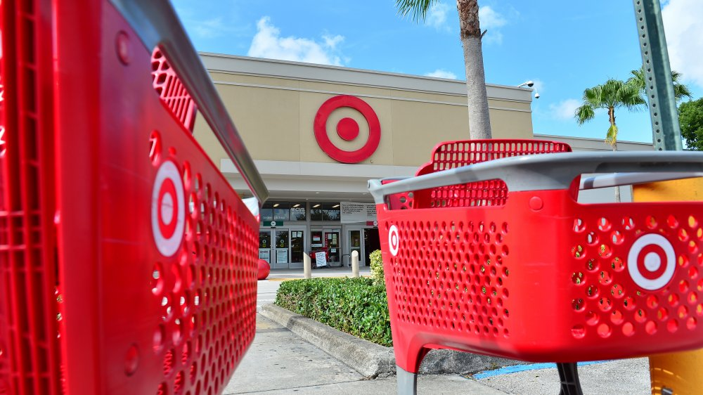 Target storefront and carts