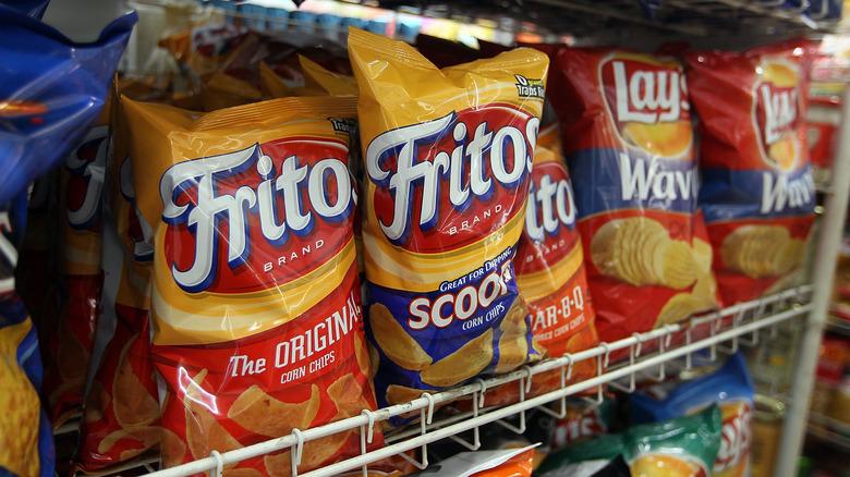 chips on rack