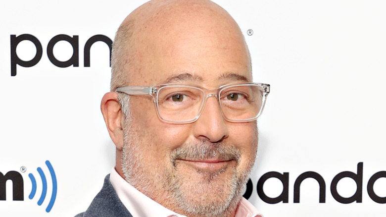 close-up of Andrew Zimmern