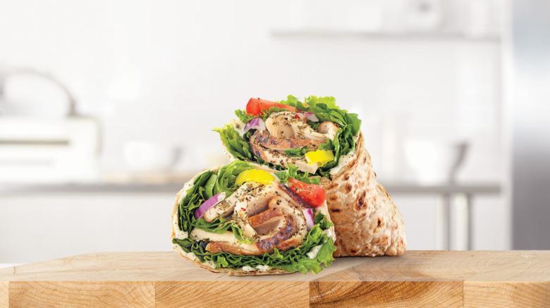Arby's Creamy Mediterranean Chicken Wrap