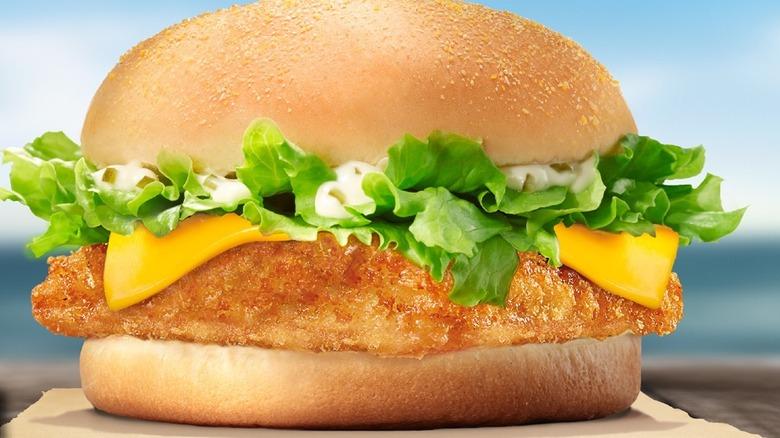 Burger King fish sandwich