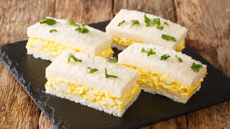 egg salad sandwiches