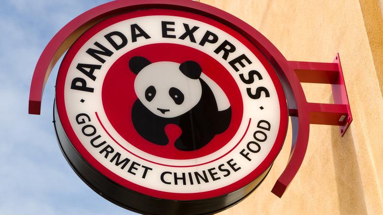A Panda Express sign