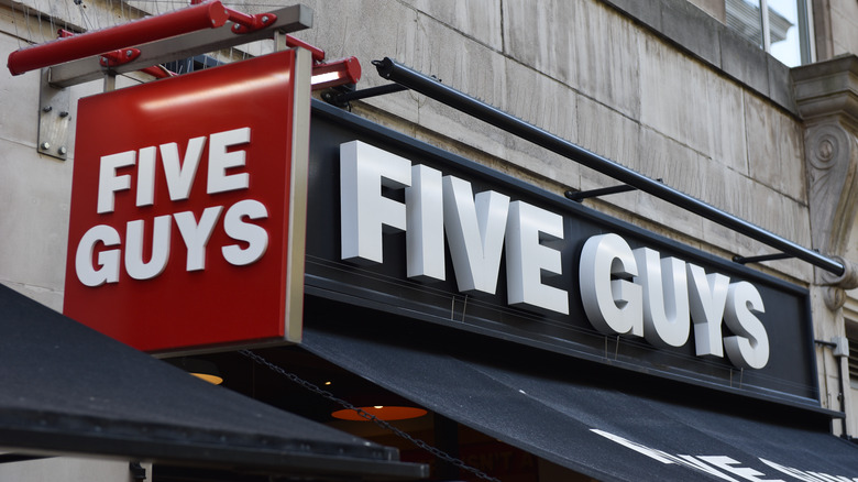 A Five Guys outlet