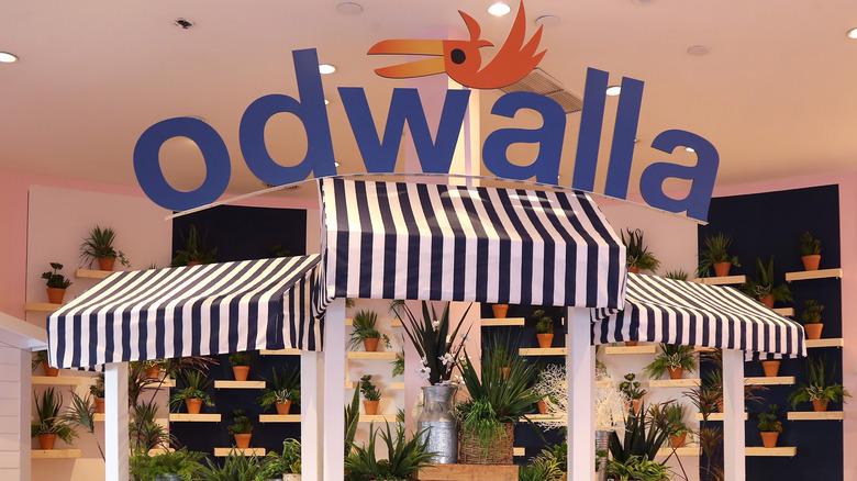 Odwalla booth