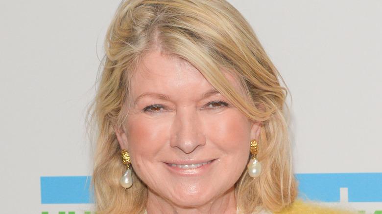 Martha Stewart closeup
