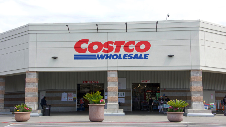 Costco store seen from outside