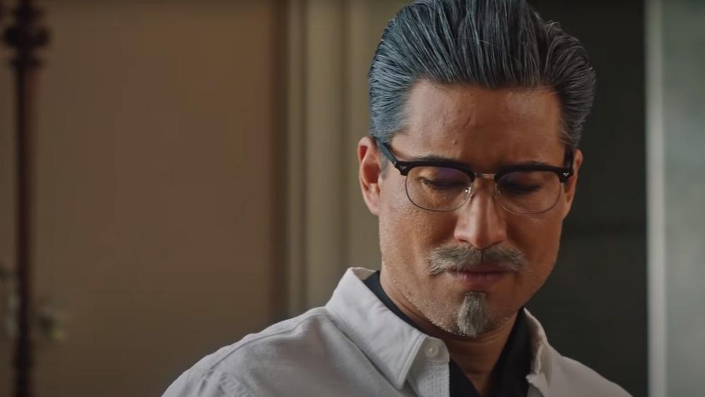 Mario Lopez as Harland Sanders in A Recipe for Seduction