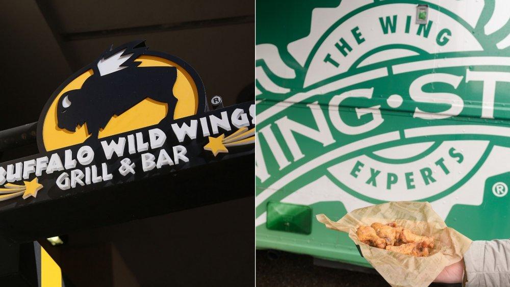 BWW & Wingstop logos