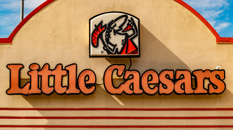 Little Caesars sign