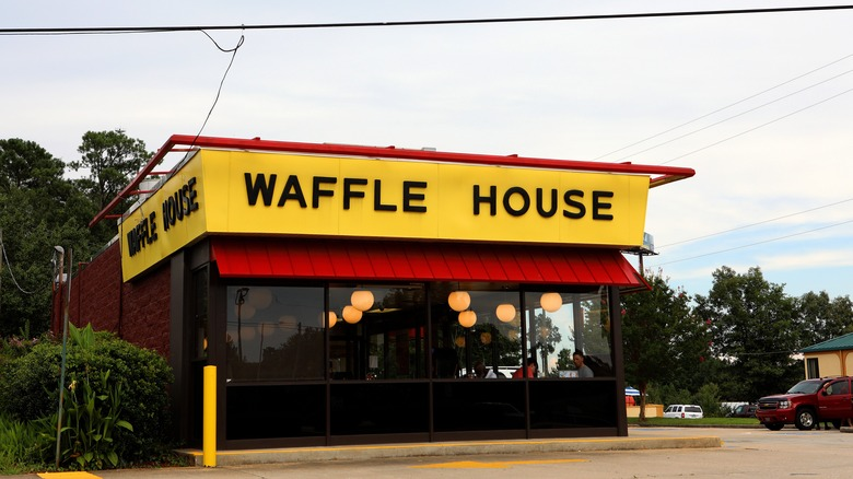 working at waffle house