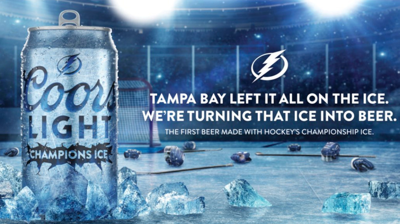 Coors Light Champion Ice Advertisement