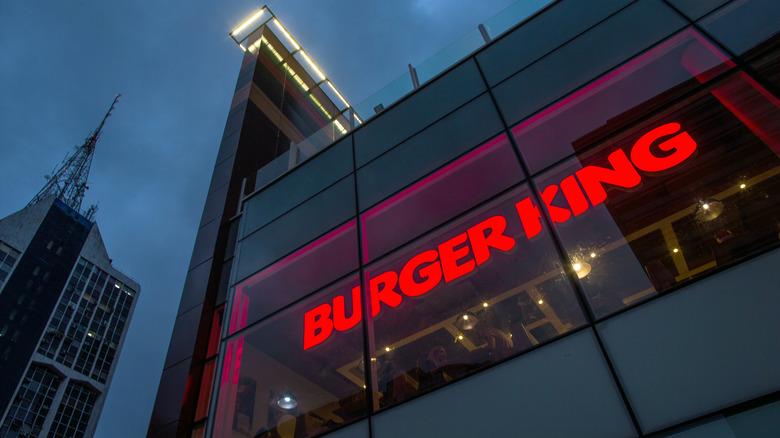 Burger King exterior in Brazil