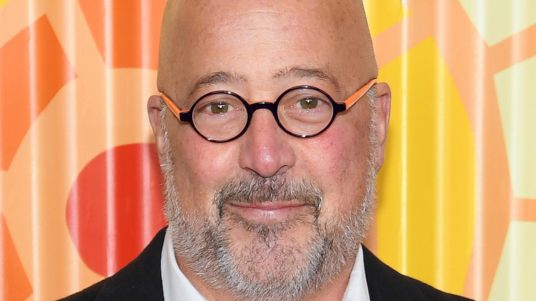 Andrew Zimmern close-up
