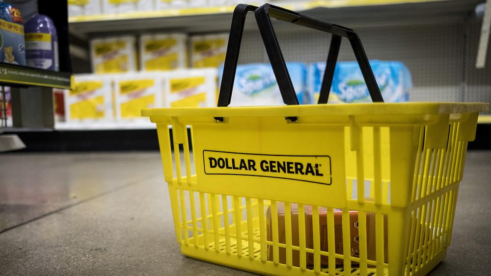 Dollar General basket