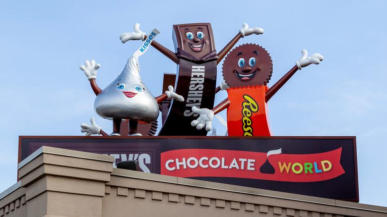 Hershey's Chocolate World characters
