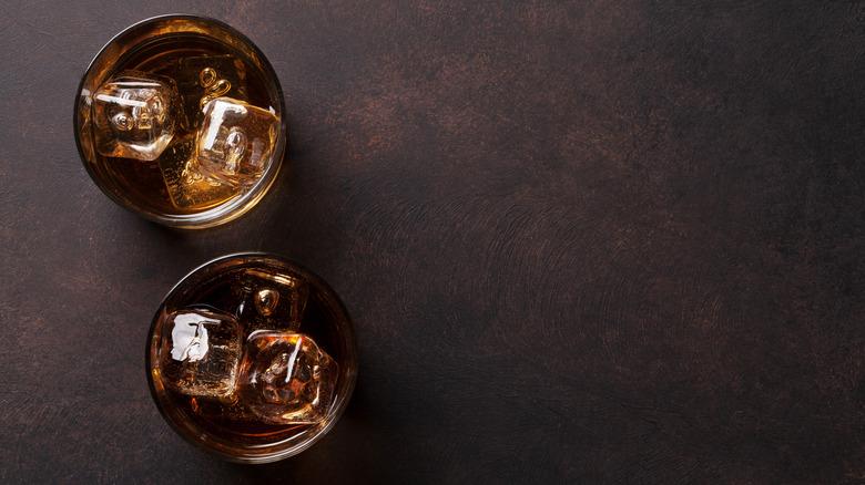 rum with ice