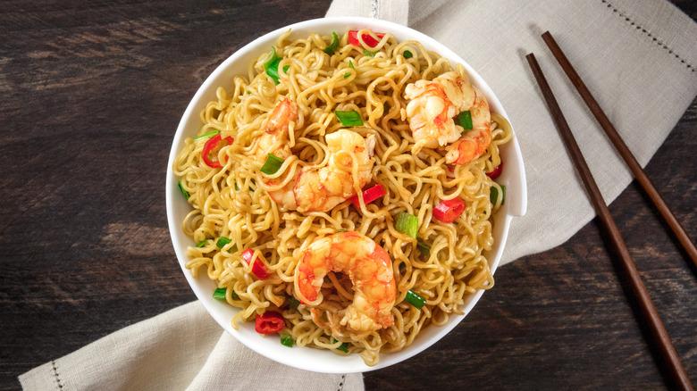 Bowl of ramen noodles