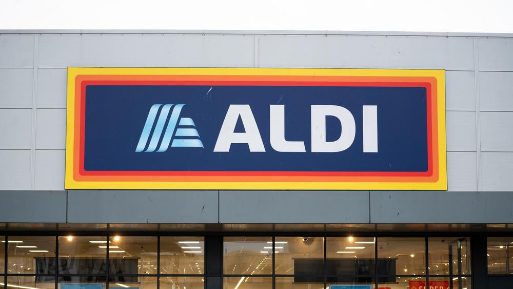 A generic photo of an Aldi store