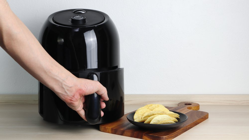 cooking with an air fryer