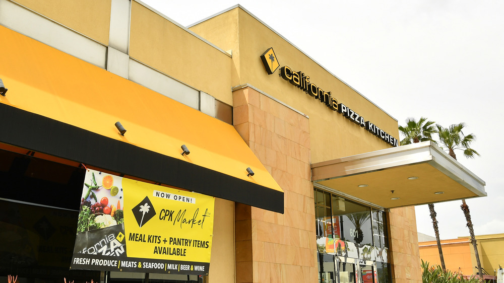 A California Pizza Kitchen outlet