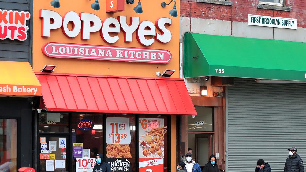 Popeyes restaurant in Brooklyn