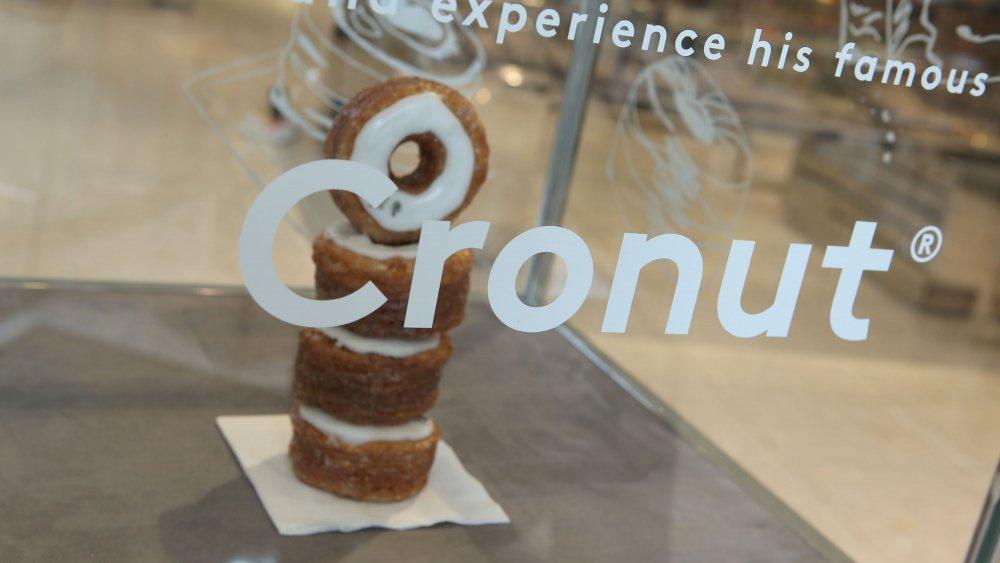 Cronut window display