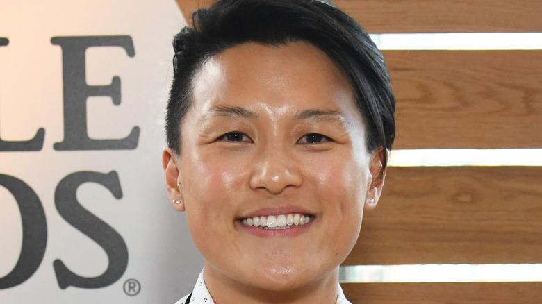 Chef Melissa King smiling