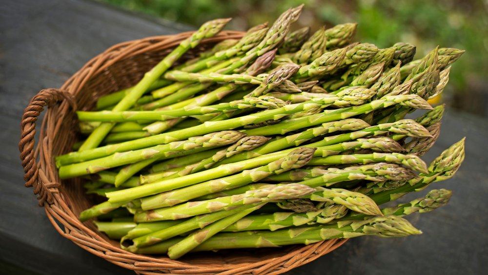 Bushel of asparagus